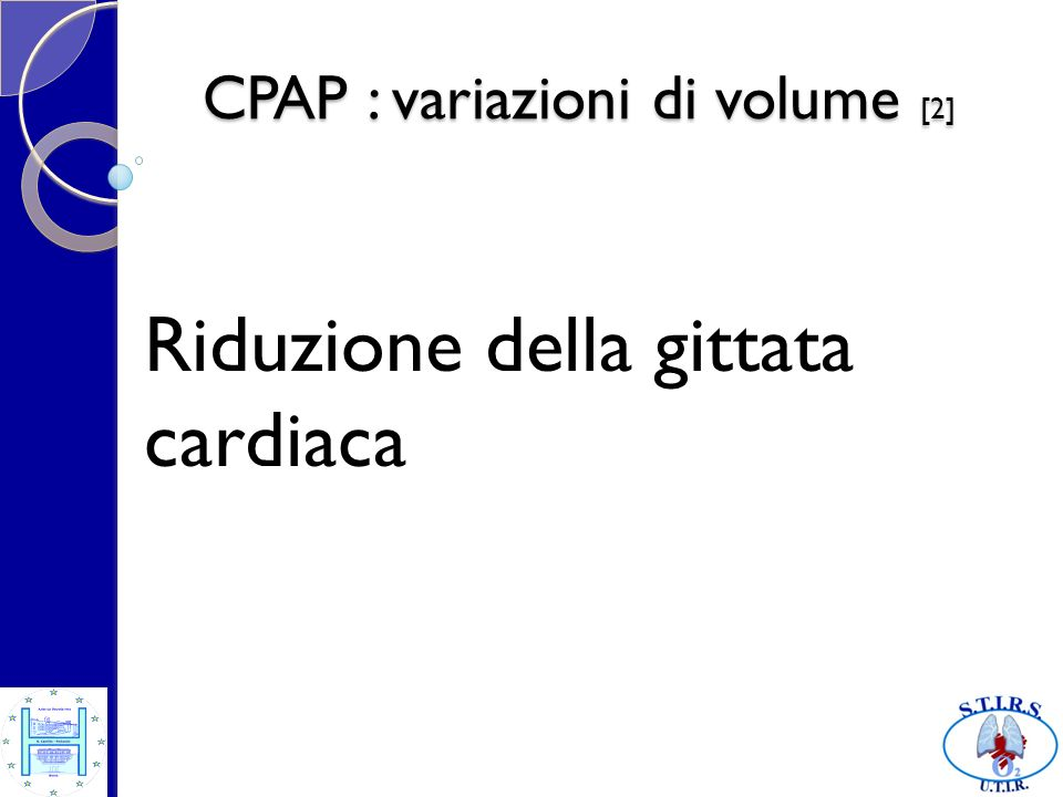 CPAP : variazioni di volume [2]
